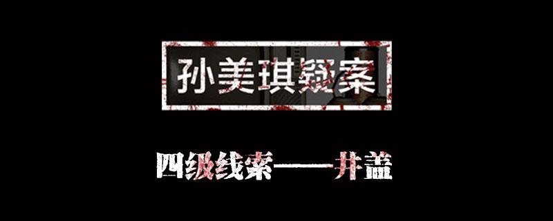 孙美琪疑案金凤凰线索井盖位置介绍