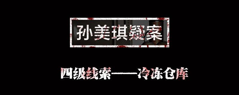 孙美琪疑案金凤凰线索冷冻仓库位置介绍