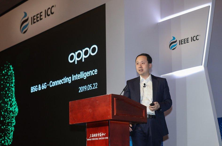 OPPO参加IEEE ICC 2019,展望智慧互联6G未来